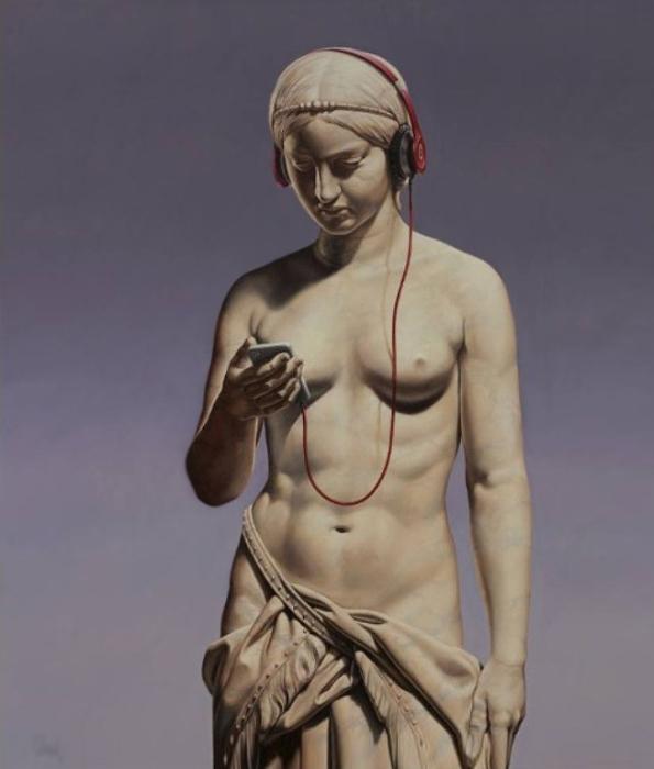 Обновление статуса. Работы креативного австралийского художника Мэтью Квика (Matthew Quick).