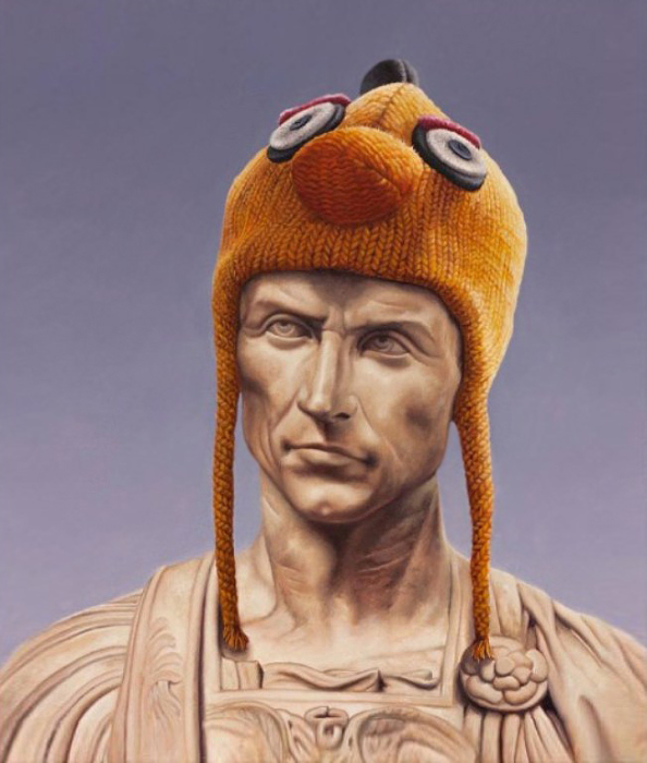 Новые одежды императора. Работы креативного австралийского художника Мэтью Квика (Matthew Quick).
