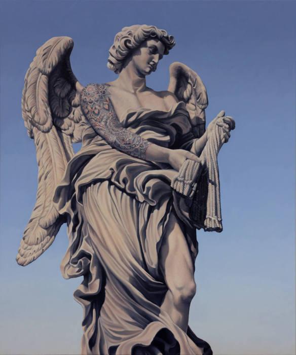 Идеальный ангел. Работы креативного австралийского художника Мэтью Квика (Matthew Quick).