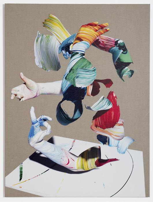 Работы Мэтью пестрят буйство красок в каждом штрихе.