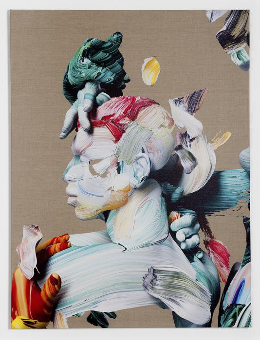 В своих работах Стоун стирает границы между традиционной живописью и новейшими технологиями.