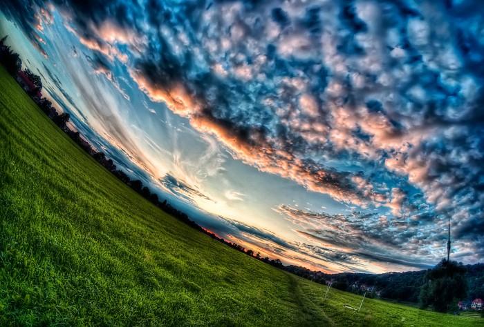 Потрясающий пейзаж.  Автор фото: Матиас Хакер (Matthias Haker).