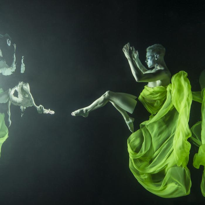 Майя Алмейда (Maya Almeida). Плод, Серия подводный танец, цифровая фотография, 2013 год.