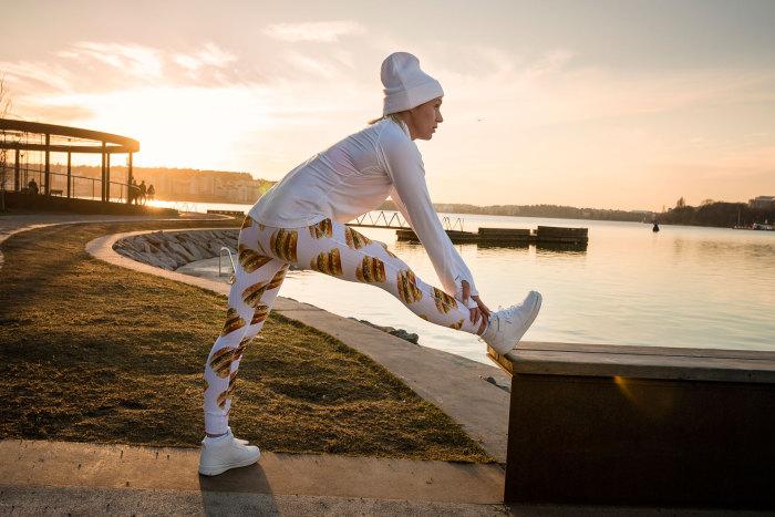 Спорт - залог здоровья! Коллекция одежды от McDonalds.