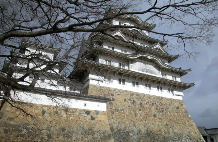 Внешний вид замка Химэдзи сфотографирован Джованни Боккарди. \ Фото: google.com.ua.