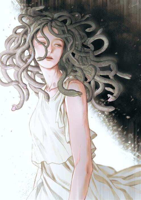 Медуза, иллюстратор Ga vin. \ Фото: reddit.com.