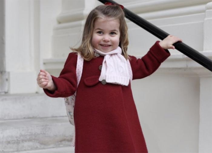 Портрет принцессы Шарлотты накануне её дня рождения.