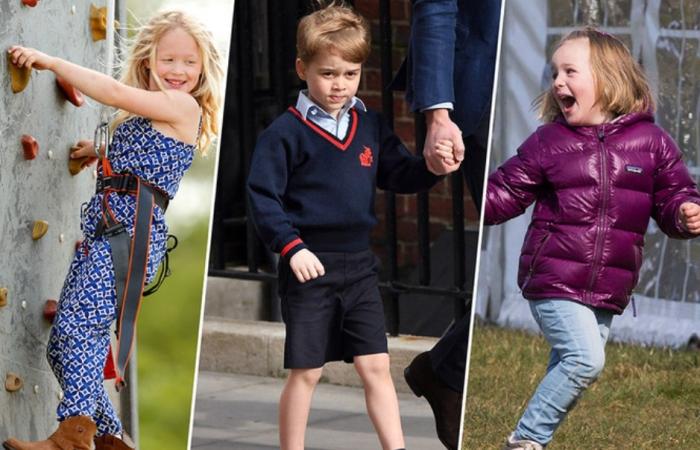 Знакомство с правнуками королевы Елизаветы II.