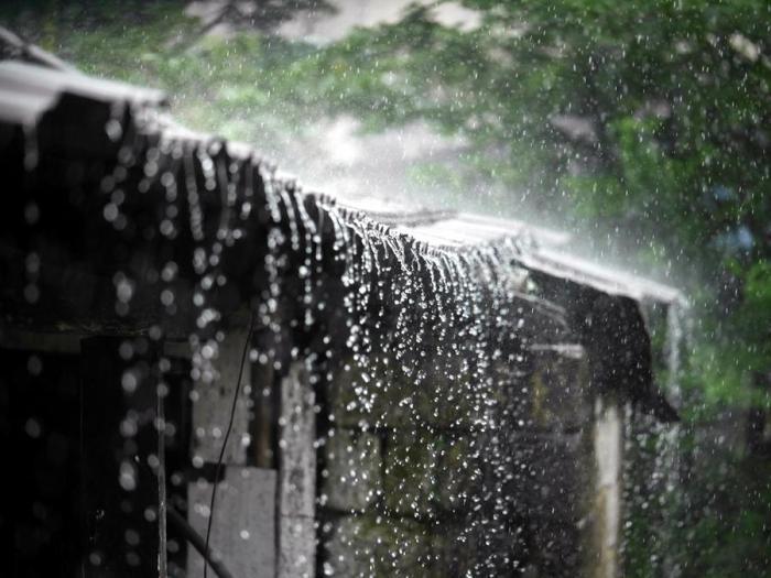 Сезон муссонов в разгаре. Мегхалая, Индия.