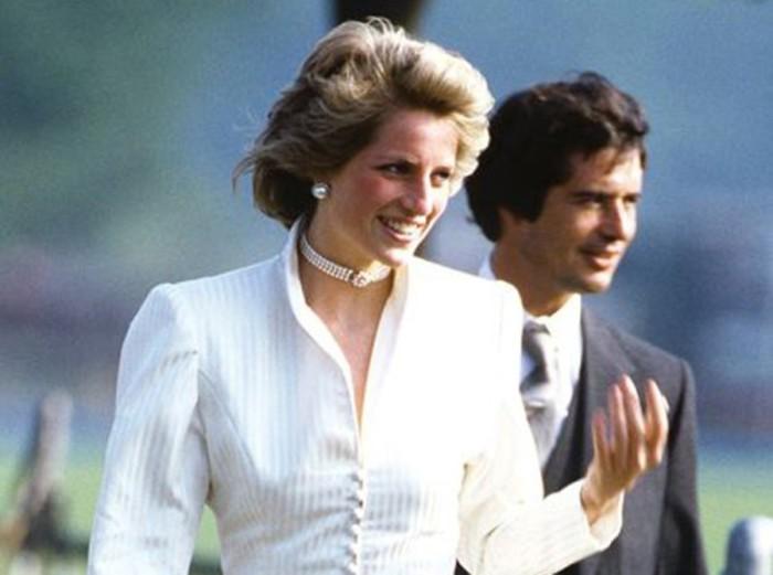 Диана и Оливер Хоар на Royal Ascot, 1985 год (пара до начала отношений). \ Фото: hvylya.net.