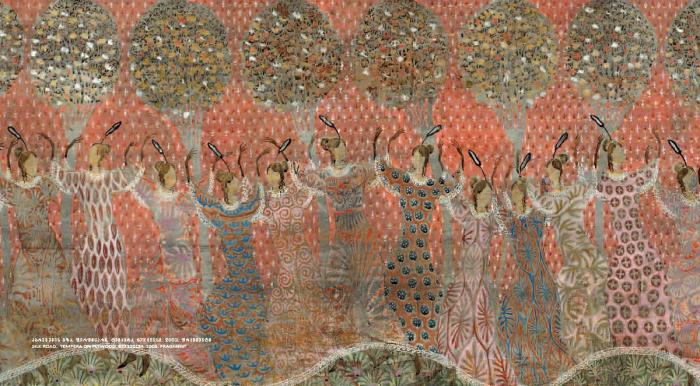 Шёлковый путь. Грузинский художник Мераб Абрамишвили (Merab Abramishvili).