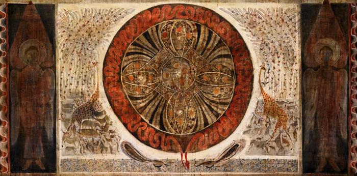 Рай. Грузинский художник Мераб Абрамишвили (Merab Abramishvili).