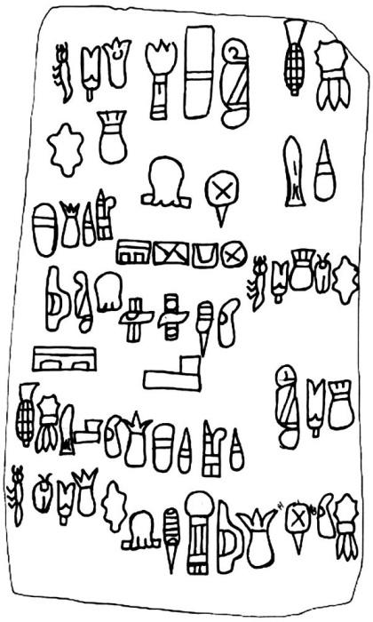 Письменность и язык ольмеков. \ Фото: ru.qaz.wiki.