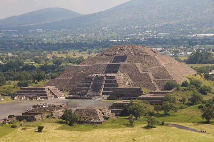 Теотиуакан. \ Фото: commons.wikimedia.org.