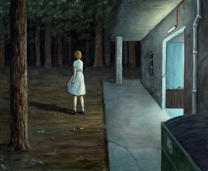 Тёмный лес.  Автор: Michael Brack.