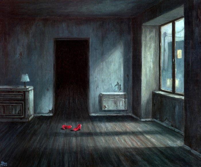 Красные туфельки.  Автор: Michael Brack.