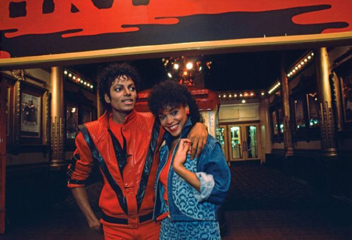 Майкл Джексон и Ола Рей. \ Фото: scarletboulevard.com.