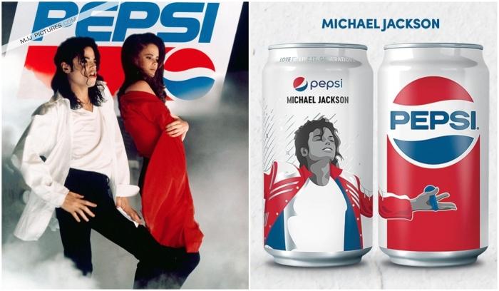 Майкл Джексон и Пепси. \ Фото: mjvibe.com.