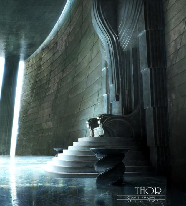 Трон Одина. Автор: Michael Kutsche.