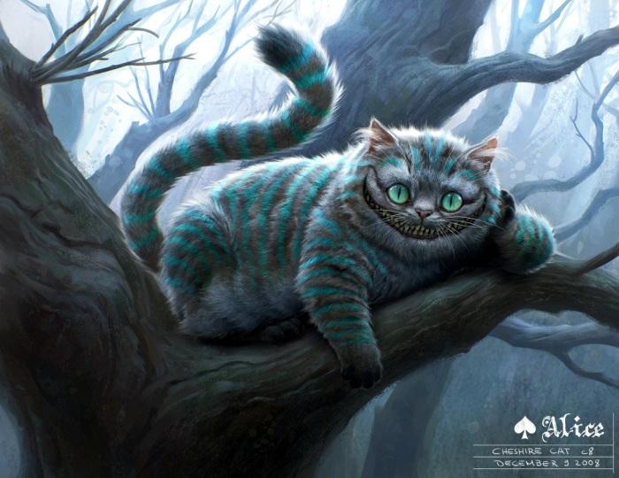 Алиса в стране чудес: Чеширский кот. Автор: Michael Kutsche.