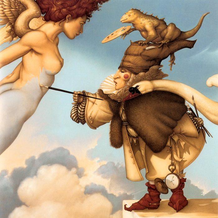 Небесный живописец. Автор: Michael Parkes.