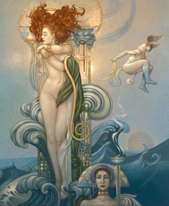 Венера. Автор: Michael Parkes.