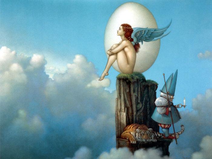 Волшебный мотив. Автор: Michael Parkes.