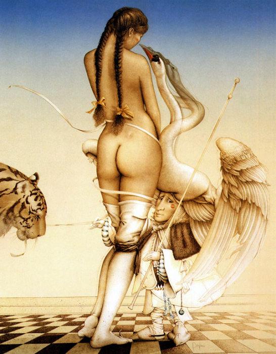 Повелитель марионеток. Автор: Michael Parkes.