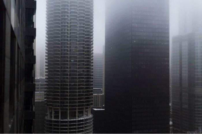 Туманное утро (Foggy morning). Автор работ: фотограф Майкл Солсбери (Michael Salisbury).