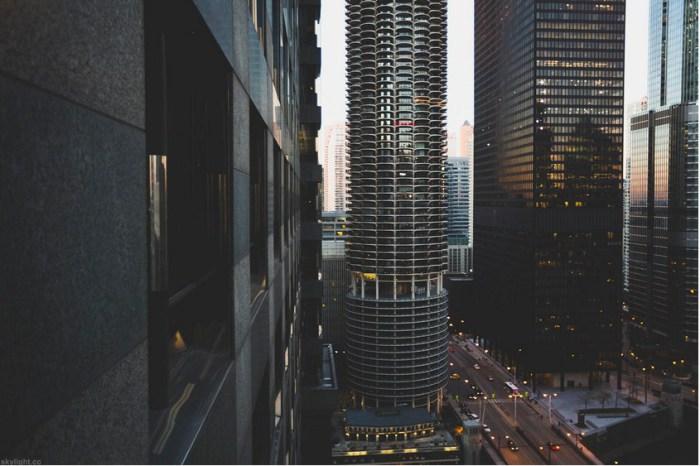 Закат (Sunset @ 4:31). Автор работ: фотограф Майкл Солсбери (Michael Salisbury).