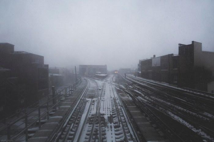 Развилка (Fork in the tracks). Автор работ: фотограф Майкл Солсбери (Michael Salisbury).