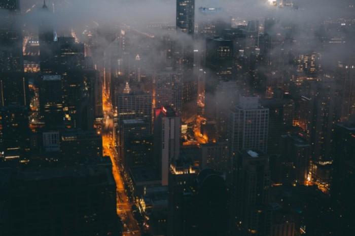 Городские пейзажи полные величия и драматизма. Автор работ: фотограф Майкл Солсбери (Michael Salisbury).