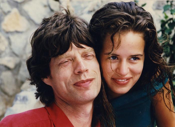 Мик Джаггер с дочерью Джейд Джаггер. Автор: Michael White.