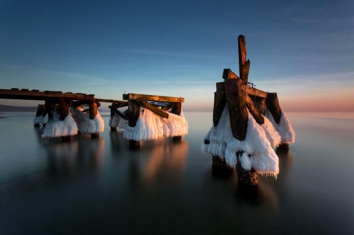 Суровое Балтийское море. Автор: Michal Olech.
