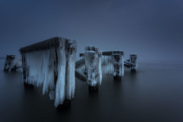 Проделки мороза. Автор: Michal Olech.