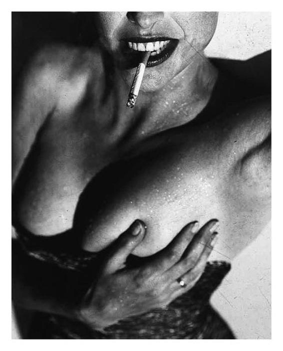 Силуэт. Потрясающе чувственные портреты. Автор фото: Michel Comte.