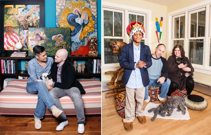 Универсальная семья 21-го века. Автор фото: Michele Crowe.