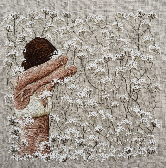 Цветочное поле. Автор: Michelle Kingdom.