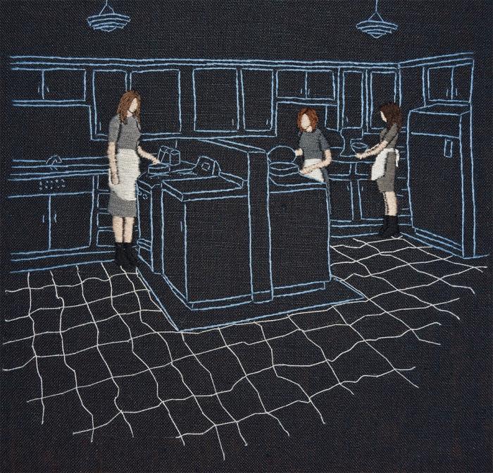 Стежок за стежком: Художница создаёт душевные картины иголкой с ниткой