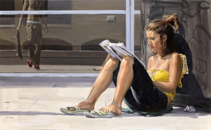 Пятиминутный отдых. Автор:  Michеle Del Сampo.