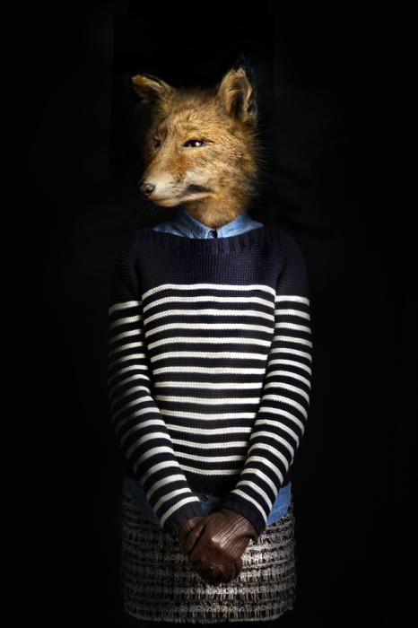 Модные антропоморфные существа Мигеля Вальинаса (Miguel Vallinas).