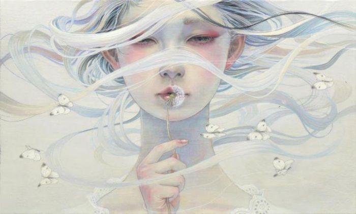 Нежные картины японской художницы Михо Хирано (Miho Hirano).