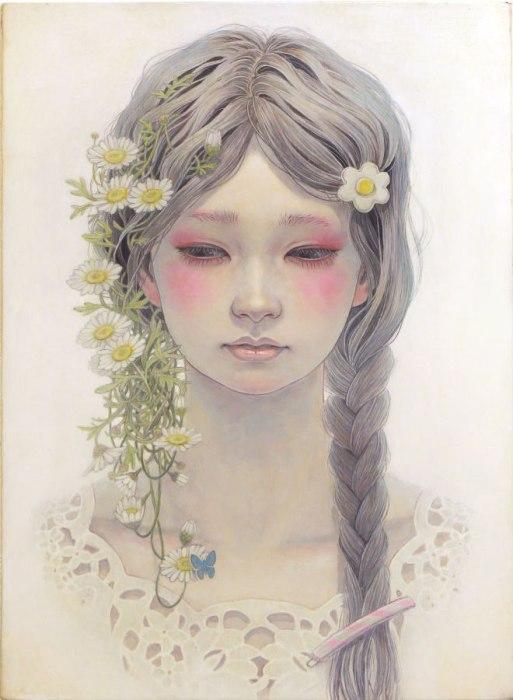 Картины японской художницы Михо Хирано (Miho Hirano).