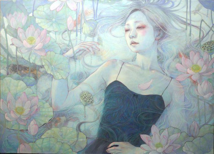 Нежные картины Михо Хирано (Miho Hirano).