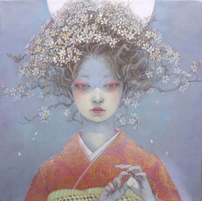 Отголоски весны в работах Михо Хирано (Miho Hirano).