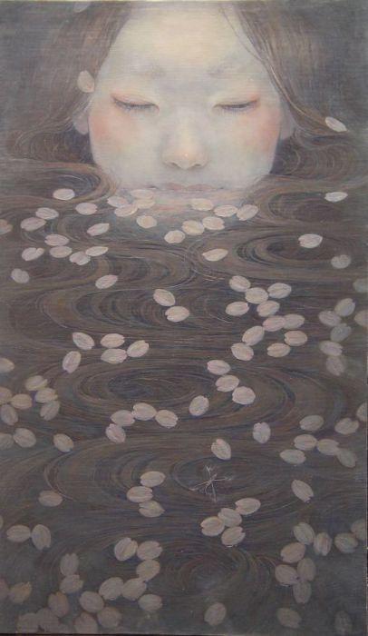 Картины Михо Хирано (Miho Hirano).