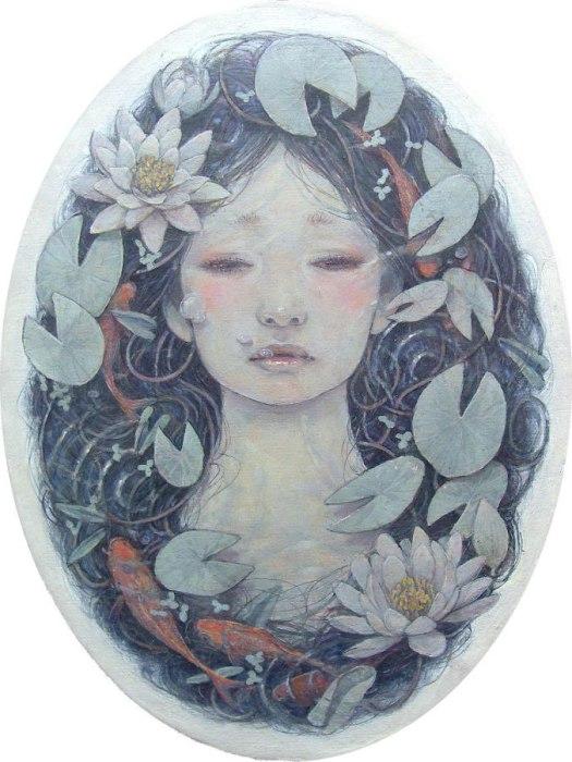 Дыхание весны. Автор работ: Михо Хирано (Miho Hirano).