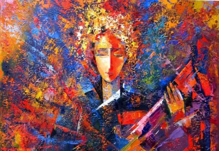 Неоднозначные работы художника Михаила Киреленко.