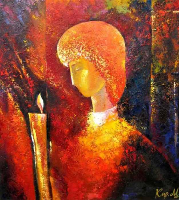 Свеча памяти. Автор: Михаил Кириленко.