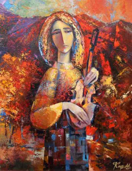 Горное молчание. Автор: Михаил Кириленко.